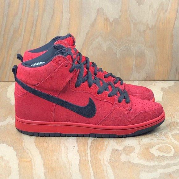Nike Shoes   Dunk High Pro Sb Red Devil
